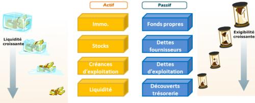 <h2>Savoir faire le lien entre les notions de Liquidité et d&#8217;Exigibilité</h2>