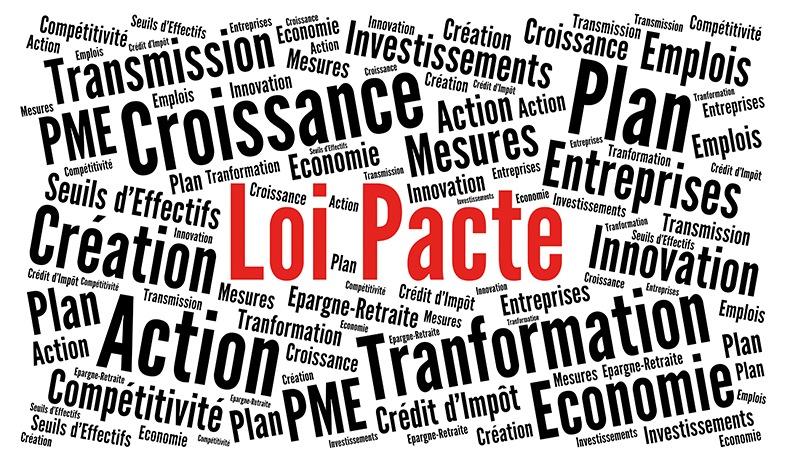 <h2>Loi PACTE et forme juridique</h2>